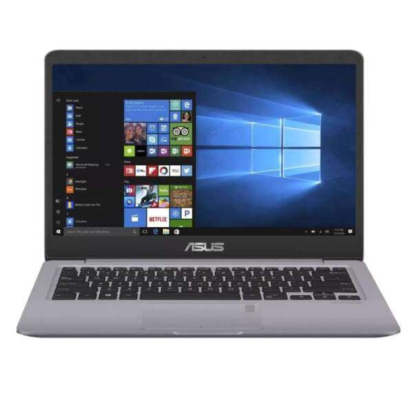ASUS VIVOBOOK A411U-FEB143T GREY (I5-8250U/4GB/1TB/14/2GB MX130/W10/1YR) + BAG Malaysia