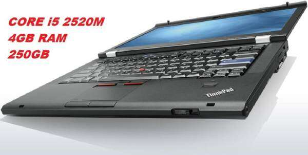 (REFURBISHED)LENOVO T420 INTEL CORE i5 2520M VPRO 2.5GHZ /4GB DDR3/250GB HDD/INTEL HD GRAPHIC/14LED SCREEN/WIN 7 PRO Malaysia