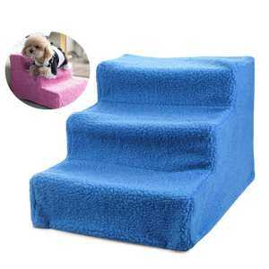 Hình ảnh Qimiao Big Sale LB Removable Pet Stairs 3 Steps Ladder Puppy Dogs Cats Bed Stairs Specification:45x35x30cm