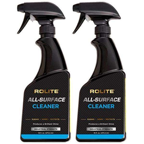 Rolite All-Surface Cleaner (16 fl. oz.) Instantly Cleans TV, Plasma, LCD, LED, iPad, iPhone, Laptop, Macbook, Computer Monitor, Tablets, GPS 2 Pack Malaysia