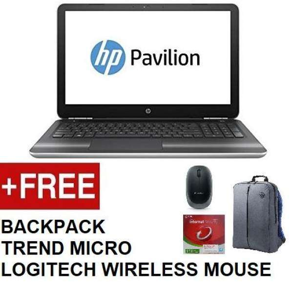 HP 15-DA0006TX / HP 15-DA0007TX (i5-8250u,4GB DDR4,1TB,DVD,WIN10,MX110 2GB,2YEARS WARRANTY,BLACK / SILVER) FREE BACKPACK+TREND MICRO+LOGITECH WIRELESS MOUSE Malaysia