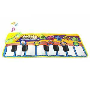 "oppoing ""Cartoon Baby Musical Piano Mat,Baby Play Mat Early Childhood Education Mats Kids Keyboard Play Mat Dance and Learn Mats Portable Toys "" - intl"