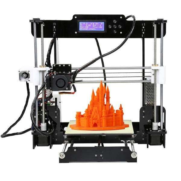 Anet A8 Upgraded High Precision Desktop 3D Printer Reprap Prusa i3 ...