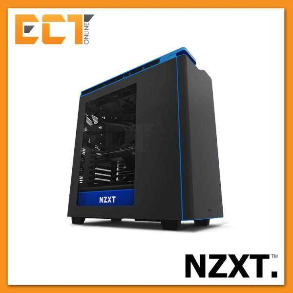 (2017) NZXT H440 Silence Optimized Premium ATX Mid Tower Gaming Case / Chassis - Red/Green/Blue Malaysia