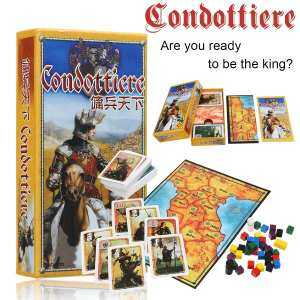 Hình thu nhỏ Condottiere Full Set Card Strategy Game Board Games For Friends Family Party - intl