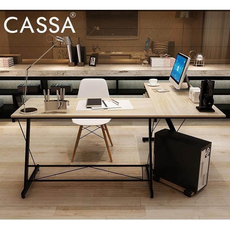 office table top. Cassa Soreno Corner L Shape Desk Maple Computer Office Table Top With Black Frame Malaysia P