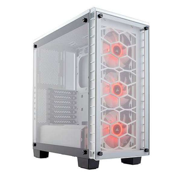 Corsair Crystal Series 460X Compact ATX Mid-Tower Case*White Malaysia