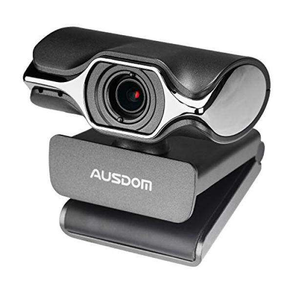 AUSDOM Webcam HD 1080P AW620 Web Computer Camera with Microphone for Desktop Computer PC Laptop USB Plug and Play for Skype Video Calling Malaysia