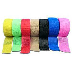 Hình thu nhỏ sản phẩm 6pcs 7.5x450cm Cohesive Bandages Self Adherent Wrap Tape Stretch Athletic Strong Elastic First Aid Tape