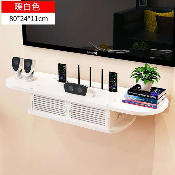 [Tmall Signature] Yijiada SN00134 On-Wall Storage Shelf TV Wall Set-Top Box Partition Storage Shelf