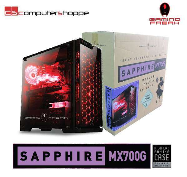 AVF Gaming Freak Chassis Tempered Glass SAPPHIRE MX700G Malaysia