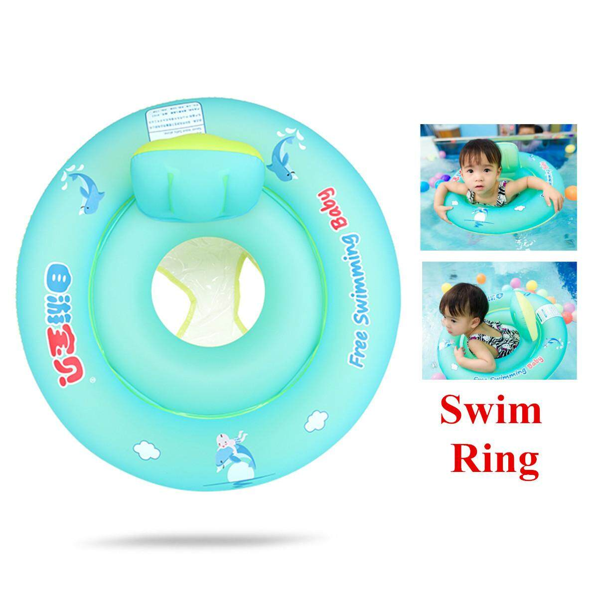 Hình thu nhỏ Baby Float Swimming Ring Kid Inflatable Swim Tube Trainer Pool Water Fun Toy S-L [S]