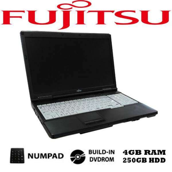 Fujitsu intel celeron 4GB DDR3 250GB dvdrom lifebook a552 laptop notebook (Refurbished) Malaysia