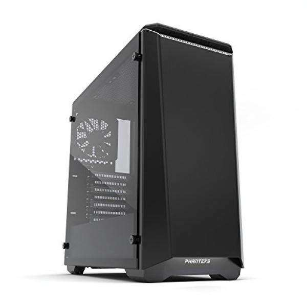 Phanteks PH-EC416PTG_BW Eclipse P400 Steel ATX Mid Tower Case Black/White,Tempered Glass Edition Cases Malaysia