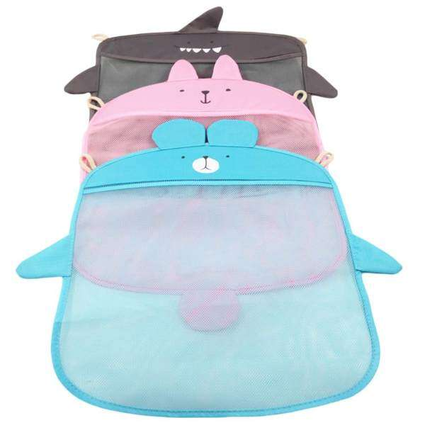 Wall Hanging Mesh Space Saving Storage Bag Toiletry Baby Bath Toy Organizer    Intl Philippines