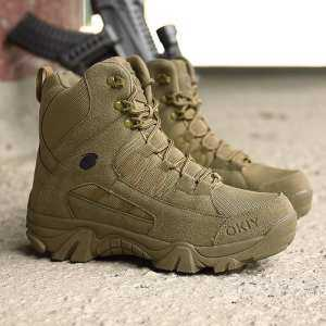 Hình thu nhỏ sản phẩm YOZO Winter Boots Men Desert Military Tactical Boots Army Outdoor Hiking Boot Fashion Casual Shoes Waterproof Work Combat Boots