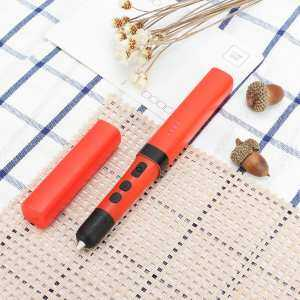 Hình thu nhỏ 3D Printer Pen Modeling Filament Crafting Arts Printer Pen US Plug Red - intl