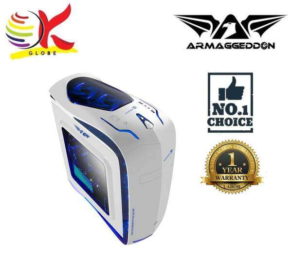 ARMAGGEDDON ELVATRON T11 FULL ATX GAMING TOWEL CLASSIS WITHOUT PSU Malaysia