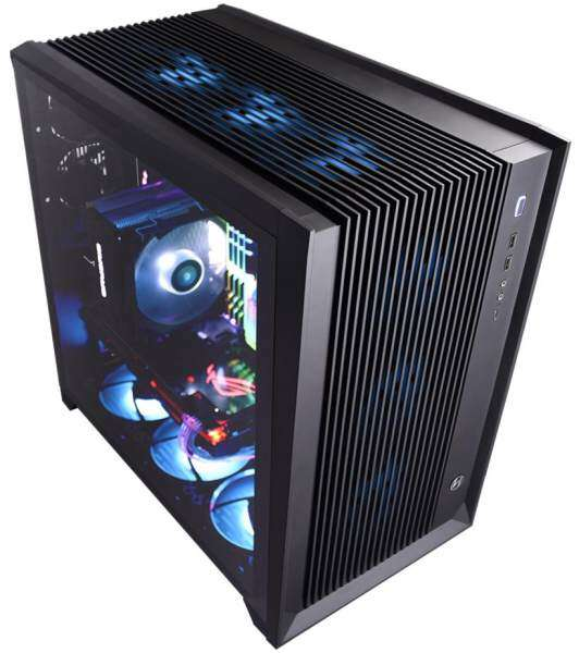 Lian Li PC-O11 Air RGB Tempered Glass E-ATX Casing - Black Malaysia