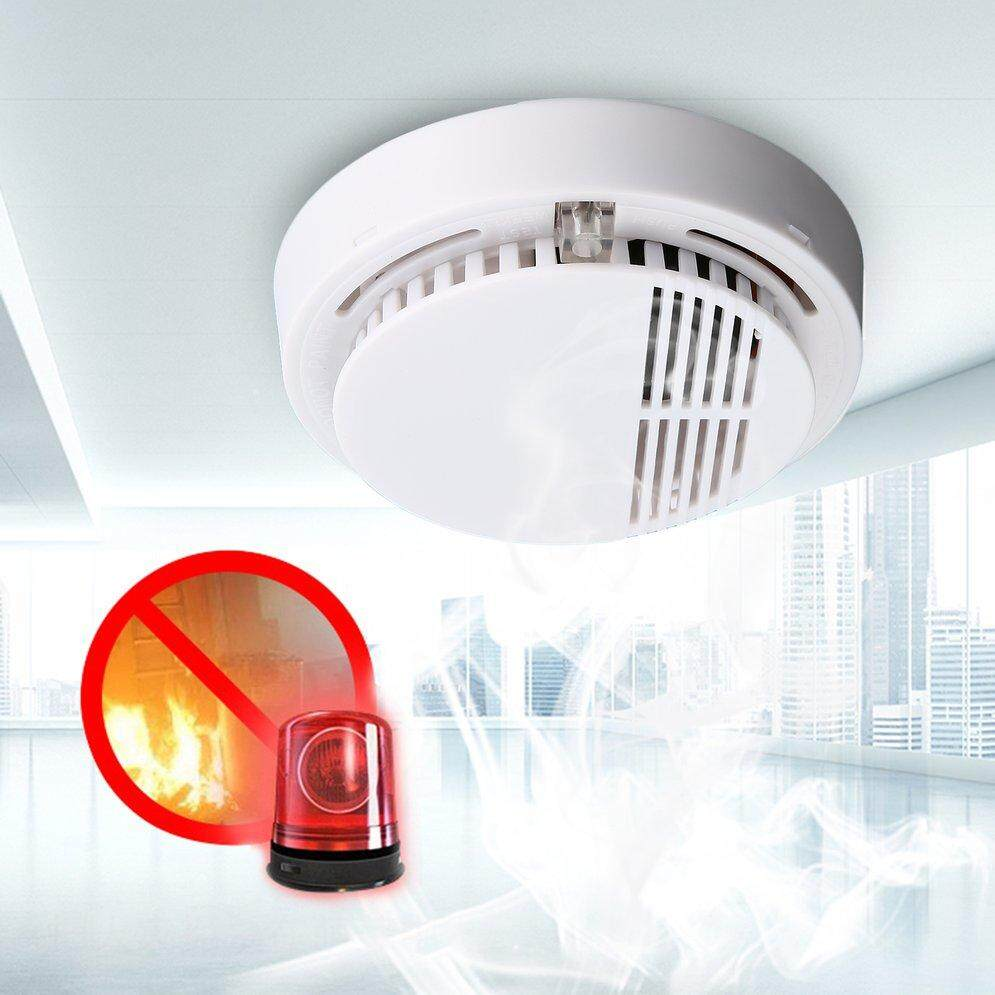 ELEC Fire Smoke Sensor Detector Alarm t*ester Cordless Home Family Guard Security