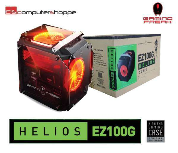AVF Gaming Freak Chassis Tempered Glass HELIOS EZ100G Gaming Casing Malaysia