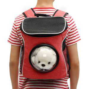 Hình ảnh Breathable Astronaut Capsule Pet Cat Puppy Travel Bag Space Backpack Carrier Bag - intl