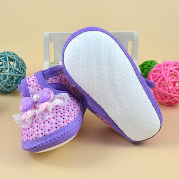 RADOCIE Baby Bowknot Boots Soft Crib Shoes