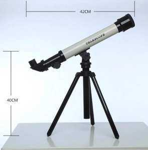 Hình thu nhỏ sản phẩm MagiDeal 20x 40x 60x Children Student Educational Toy Purple Astronomical Telescope