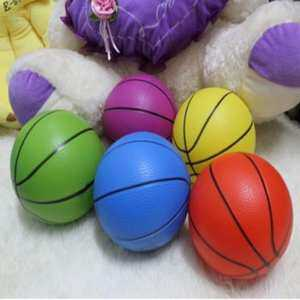 Hình thu nhỏ sản phẩm Mixed Colorful Sizes Inflatable Pvc Basketball Kid Toy Fun 4