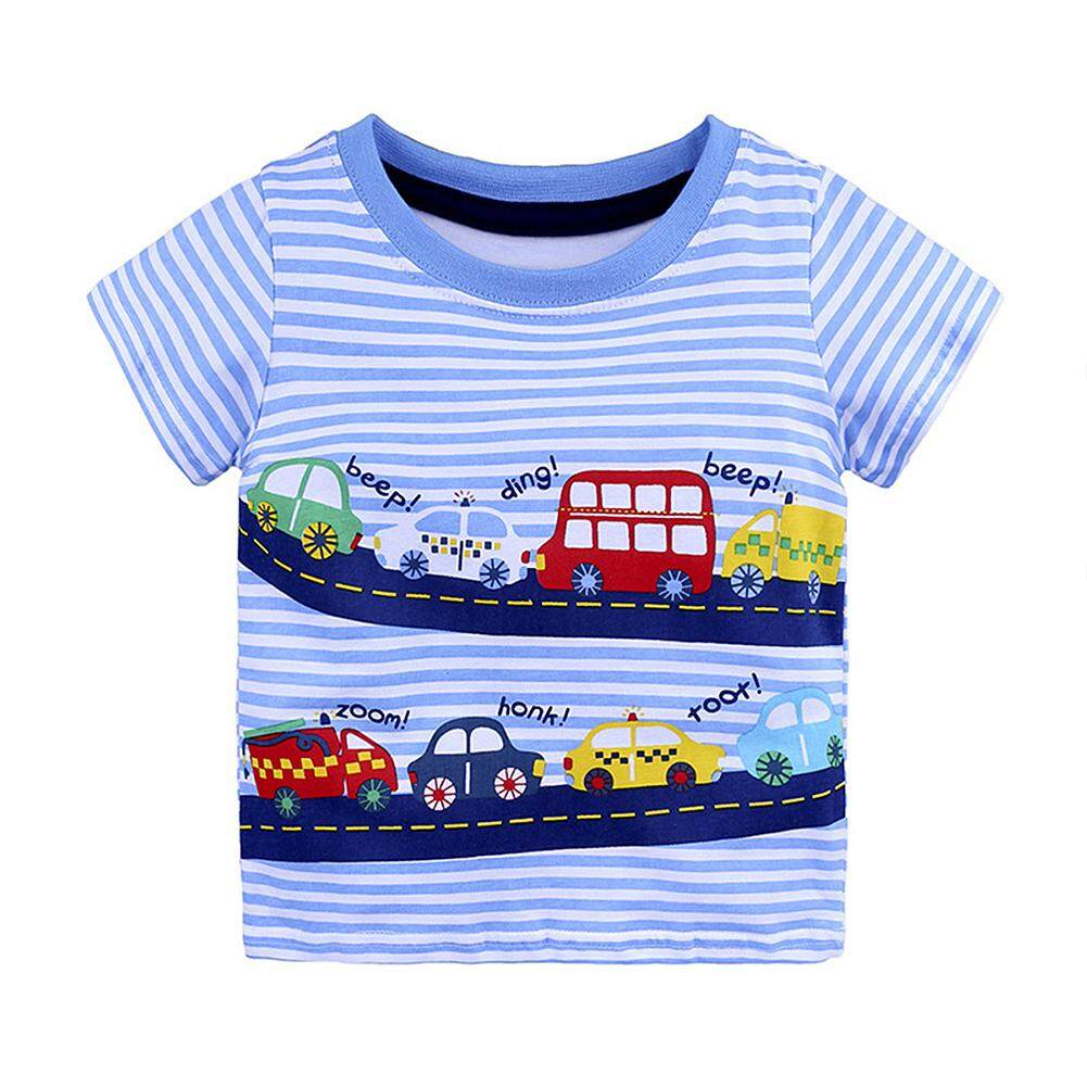 Cute Cartoon Printing Soft Cotton Short-Sleeve T-Shirt Birthday Festival Gift