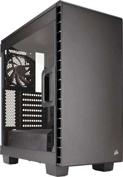 Corsair Carbide Series™ Clear 400C Compact Mid-Tower Case(Black) Malaysia