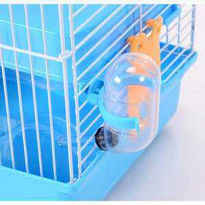 Hình thu nhỏ sản phẩm 3-storey Pet Hamster Cage House Portable Mice Home Habitat Decoration