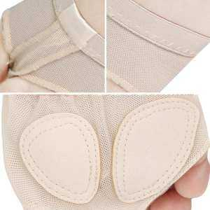 Hình thu nhỏ sản phẩm Adult Kid Girls Breathable Foot Thongs Ballet Dance Toe Pad Socks Forefoot Cushion for Relieve Foot Pains Size XL - intl