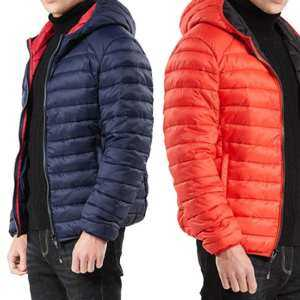 Hình thu nhỏ sản phẩm SA Men Concise Lightweight Warm Jackets Hooded Multicolor Cotton Coat for Winter