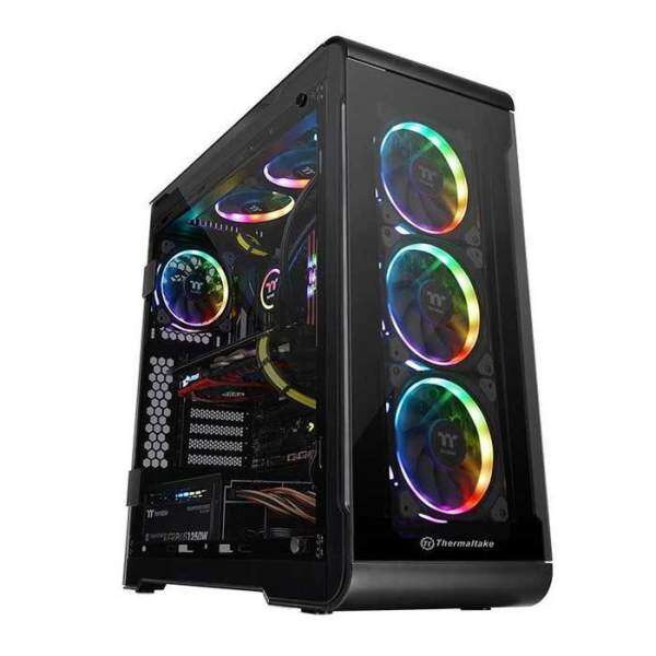 Thermaltake View 32 RGB ATX Case Black - Tempered Glass Malaysia
