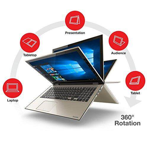 Toshiba Satellite Fusion 15 L55W-C5259 15.6-Inch Convertible 2 in 1 Touchscreen Laptop Malaysia