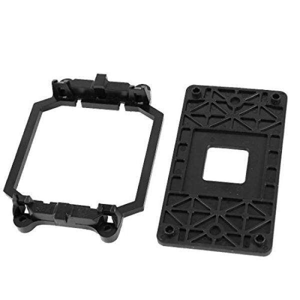 uxcell AMD Plastic CPU Fan Stand Bracket Base Black w Four Screws for AM2 AM3 Socket Malaysia