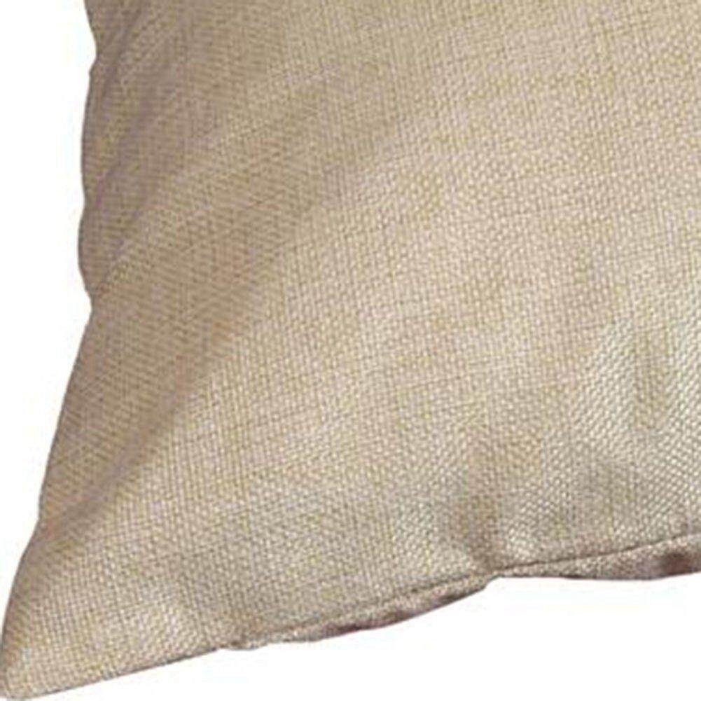Cotton Linen Square Decorative Throw Pillow Case Cushion Cover (Palm leaf) Free Shipping
