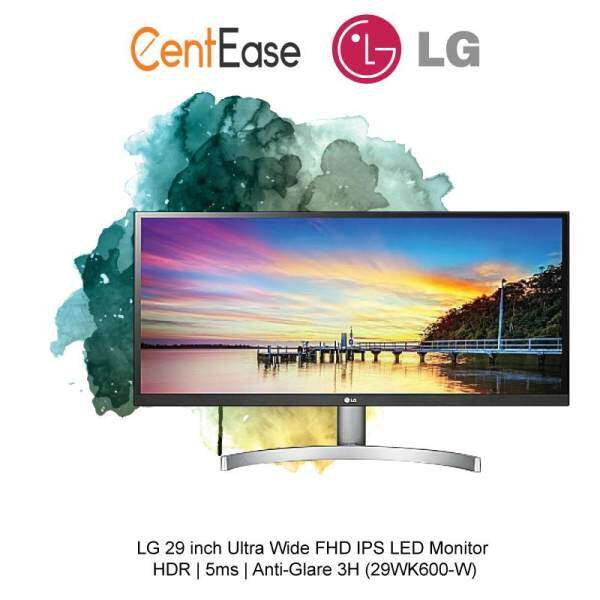 LG 29 inch Ultra Wide FHD IPS LED Monitor - HDR 5ms Anti-Glare 3H (29WK600-W) Malaysia