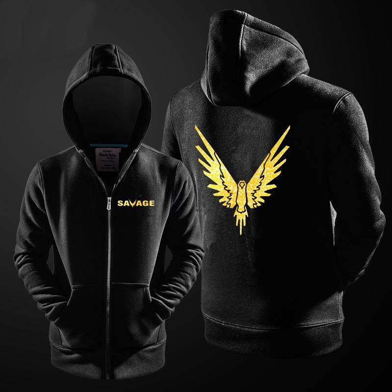 Hoodie Jake Paul Logan Logang Maverick Youtuber Men & Women Hooded Gold Print Bird Hoodies