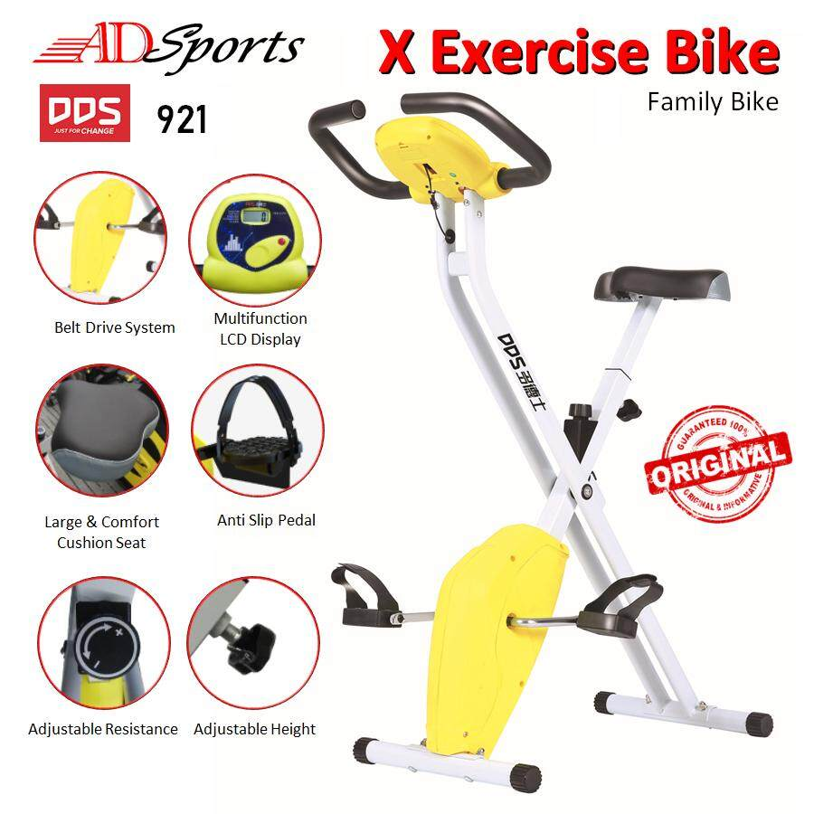 CSMall - Gym Fitness ADSports DDS921 X Bike Sport Equipment Belt Exercise Bicycle Cycle Bike