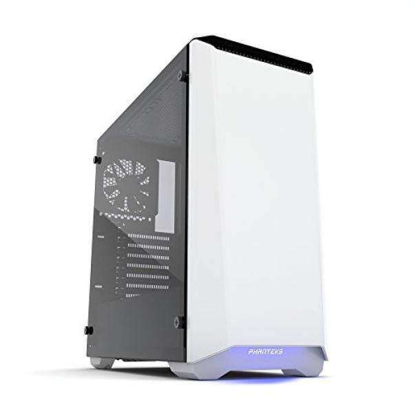 Phanteks PH-EC416PTG_WT Eclipse P400 Steel ATX Mid Tower Case Glacier White,Tempered Glass Edition Cases Malaysia
