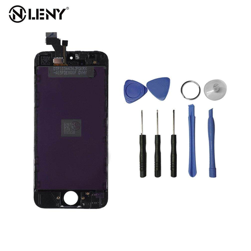 ELEC Suitable For iPhone5 LCD Screen Digitizer Display Assembly Replacement Black