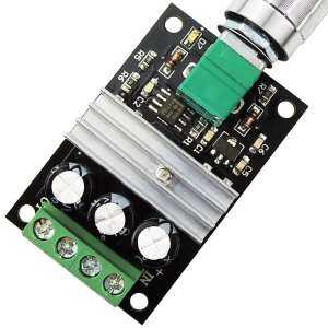 Big Sale 6V 12V 24V 28V 3A 80W DC Motor Speed Controller PWM Adjustable Variable Speed Switch DC Motor Driver