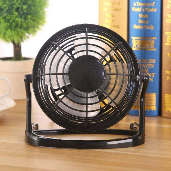 COMONE Creative Portable 4 inch USB Powered Fan Office Desk Mini Fan Powerful Wind Plastic Fan For PC/Laptop/Notebook Four Color Malaysia