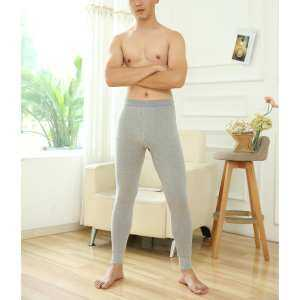Hình thu nhỏ sản phẩm Big Sale Men Cotton Long Underwear Pants Long Johns Bottom Pants Leggings