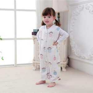 Baby Sleeping Bags For Spring Summer Thin Cute Children Catroon Pattern Sleep Sack For Kids Cotton Soft 4 - intl