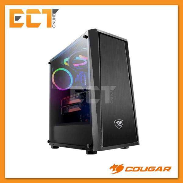 Cougar MX340 Mid-Tower Tempered Glass Gaming Casing / Chasis Malaysia