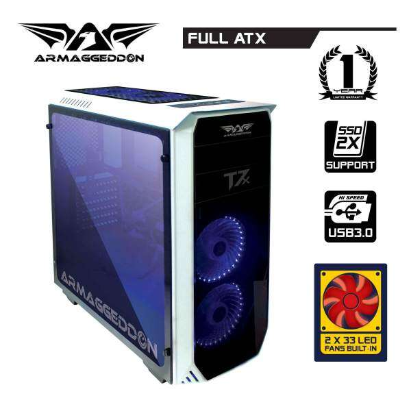 T7X Full ATX Smart Gaming Structure PC Chassis By Armaggeddon Malaysia