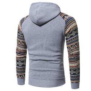 Hình thu nhỏ sản phẩm Fs Big Sale Pretty Ethnic Style Male Hooded Sweatshirt Stylish Long-Sleeve Coat Hoody Tops Gift for Winter Autumn